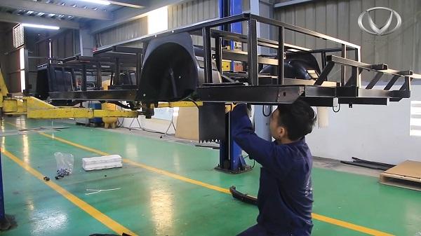 Trục xe điện VN Electric Car được lắp ráp như thế nào?