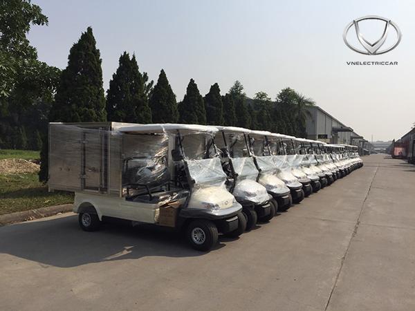 Tùng Lâm bàn giao 20 xe điện cho Công ty TNHH KN Cam Ranh trong lần thứ 2