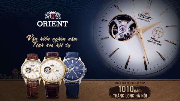Đồng hồ Orient 1010 phiên bản giới hạn - Món quà tặng độc đáo dành riêng cho người yêu Hà Nội