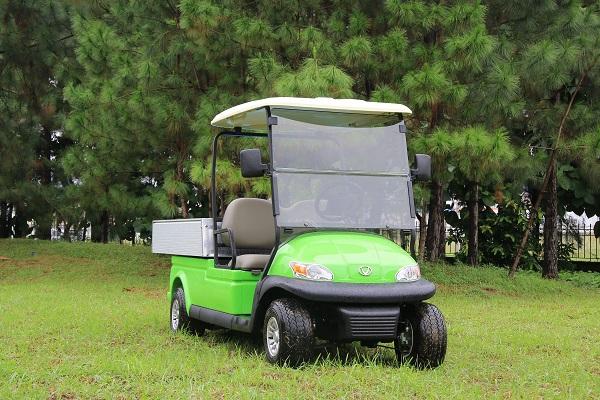 Dễ dàng chuyển đổi mục đích sử dụng với xe điện chở hàng của Tùng Lâm