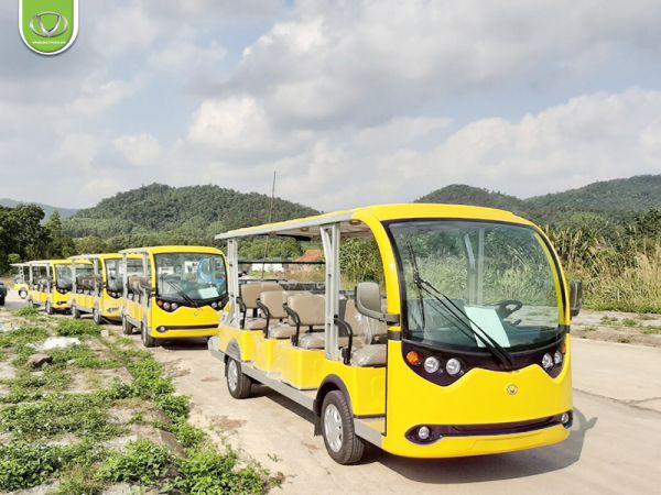 3 xe điện Tùng Lâm VNE.CAR 14ACi10 được xuất tới đảo Cô Tô