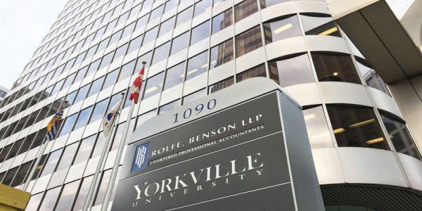 Đừng bỏ lỡ cơ hội nhập học kỳ tháng 10 tại Yorkville University với học bổng lên đến 10,000 CAD