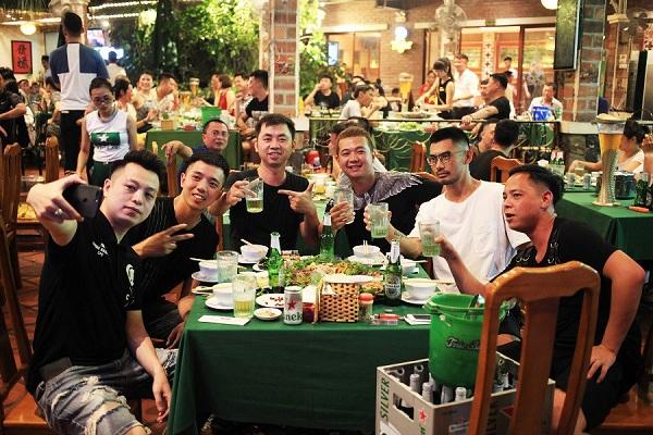 bia hơi Vân Hồ