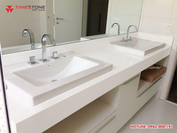 Đá lavabo Timestone đáp ứng mọi yêu cầu của khách hàng