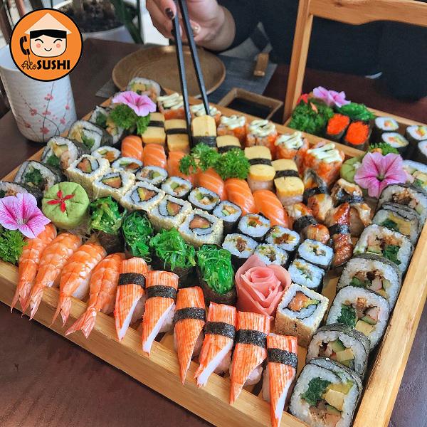 sushi ngon Hà Nội