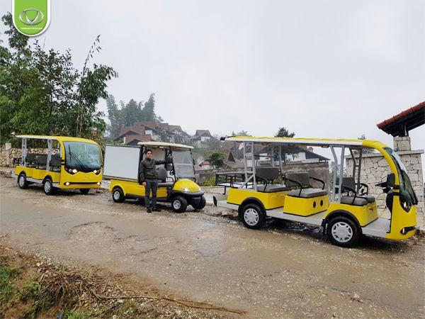 Xe điện 4 bánh có thể đi được trên địa hình dốc không?