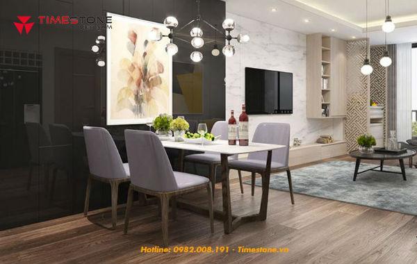Nâng tầm đẳng cấp không gian bếp nhờ đá bàn ăn Timestone