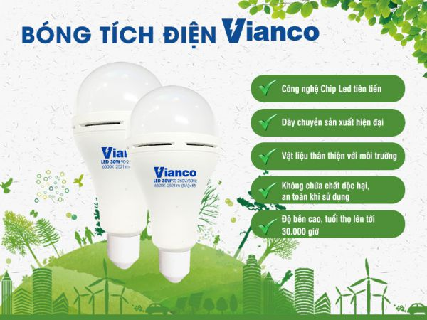 Bóng tích điện Vianco