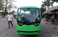 Xe oto điện Hà Nội - Một thập kỷ đồng hành cùng thủ đô