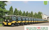 Tùng Lâm: 103 xe điện được bàn giao đến 16 tỉnh thành trong năm 2020