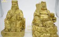 Top 4 mẫu tượng đồng Thần Tài - Thổ Địa đẹp nhất 2021