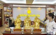 Tượng đồng mini đẹp tinh xảo, giá cả phải chăng tại Đúc đồng Dương Quang Hà