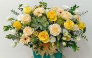 Love Arts Flowers - Cửa hàng cung cấp hoa lẵng khai trương sang trọng
