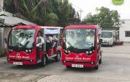 Xe du lịch điện - Giải pháp nâng cao chất lượng dịch vụ cho chủ đầu tư