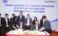 Lễ ký kết hợp tác chiến lược giữa Mofin VietNam và LoanDirect