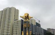 Đồ đồng Dương Quang Hà mạ vàng Tượng Đài biểu tượng của Bắc Ninh