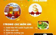 Nhận quà cực đã, uống bia thả ga trong tuần sinh nhật Vân Hồ (16 – 22/6/2019)