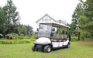 Xe điện du lịch giúp chủ resort tiết kiệm đáng kể chi phí đầu tư