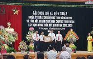 Huyện Ý Yên, Nam Định vinh dự nhận bằng đạt chuẩn nông thôn mới