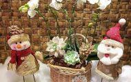 Quà tặng Noel thêm ý nghĩa với những lẵng hoa độc đáo