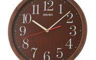 Không gian thêm trẻ trung, hiện đại nhờ sự tô điểm của đồng hồ treo tường Seiko QXA737Z