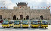 5 xe điện VNE.CAR 14AC i10 của Tùng Lâm đã có mặt tại khu du lịch tâm linh Tây Yên Tử - Bắc Giang