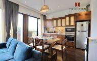 Gian bếp ấm cúng, tiện nghi của Toan Tien Housing sẵn sàng phục vụ du khách mùa dịch