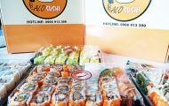 Thưởng thức ẩm thực Nhật Bản với dịch vụ sushi ship tận nhà Hà Nội