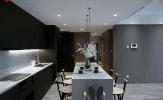 Sức hút của đá nhân tạo màu ghi trong thiết kế nội thất