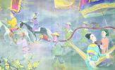 Minh họa 'Sách Tết Tân Sửu 2021' được mua với giá 275 triệu đồng