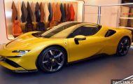 Cận cảnh siêu xe mui trần Ferrari SF90 Spider, giá 11,65 tỷ đồng