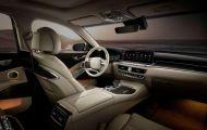 Kia K9 2022 lộ diện nội thất, thiết kế đậm chất tương lai