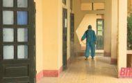 Huyện Đông Sơn quản lý, cách ly và giám sát 1.200 trường hợp để phòng chống dịch bệnh COVID-19