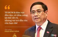 Thủ tướng: 'Việc nào TP.HCM làm tốt hơn, Chính phủ sẵn sàng giao'