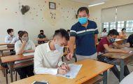 Thi tốt nghiệp THPT 2021: Hiện có 18 học sinh lớp 12 mắc COVID-19