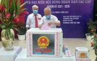 Hà Nội: Đạt tỷ lệ 99,13% cử tri toàn thành phố đi bỏ phiếu