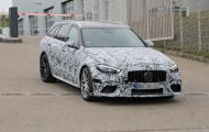 Bắt gặp Mercedes-AMG C63 Estate 2022 thử nghiệm trên đường phố