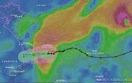 Bão áp sát bờ biển Phú Yên – Quảng Ngãi, bắt đầu ảnh hưởng đất liền