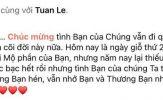 Quyền Linh và chồng NSND Hồng Vân đến thăm mộ cố diễn viên Lê Công Tuấn Anh