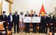 Pháp và Ý tặng Việt Nam 1,5 triệu liều vắc-xin ngừa Covid-19