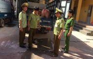 Bắt 2 xe ô tô tải vận chuyển 3 tấn lợn nhập lậu Trung Quốc