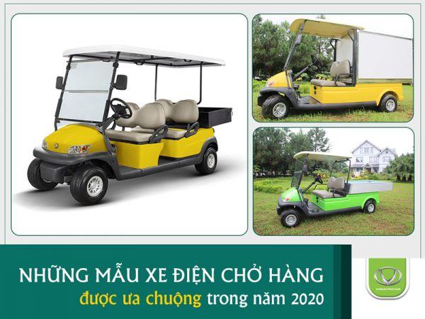 3 mẫu xe điện chở hàng Tùng Lâm bán chạy nhất năm 2020
